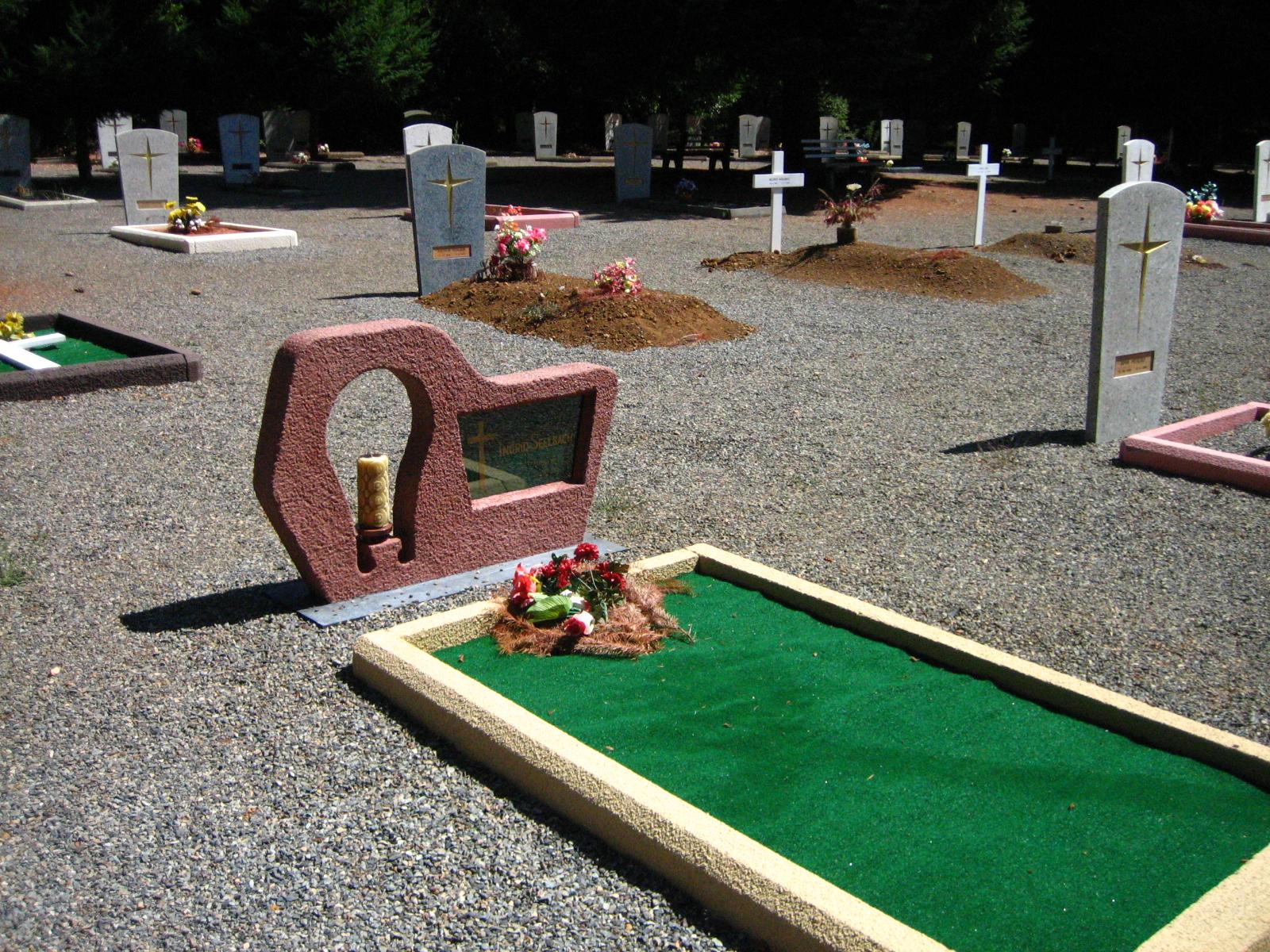 cementerio de Colonia Dignidad